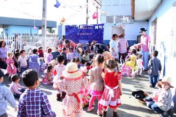 Festa Junina do C.M.E.I Santa Terezinha