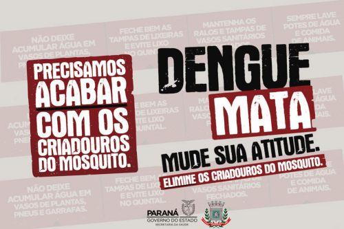 Mandaguaçu investe em ações contra o mosquito transmissor da dengue