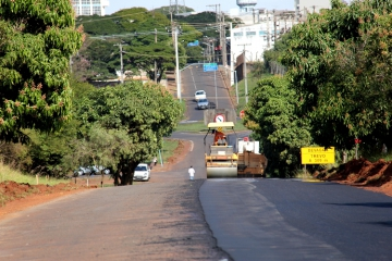 Recapeamento da estrada de Pulinópolis