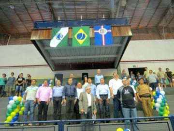 Reinauguração do Ginásio de Esportes Pedro Bioni