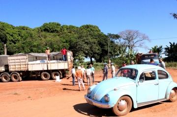 Mandaguaçu inicia distribuição de calcário