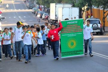 Passeata para Conscientização do Combate à Dengue