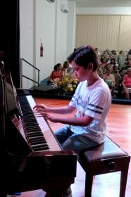 Audição de piano, teclado e violão 2014