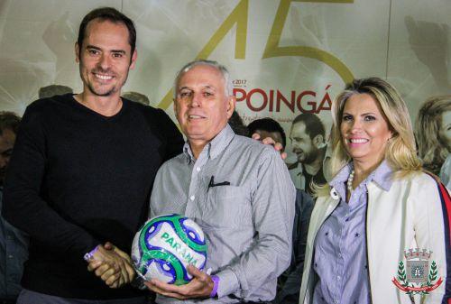 Mandaguaçu recebe materiais esportivos do Governo Estadual