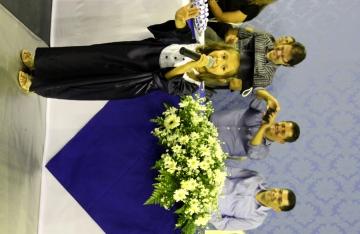 Cerimônia de formatura dos alunos da educação infantil 2014