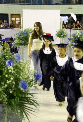 Formatura dos alunos da educação infantil da rede municipal 2015