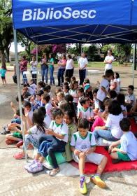 BiblioSESC em Mandaguaçu