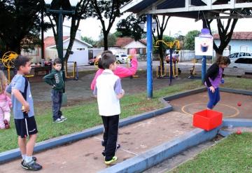 Departamento de Esportes realiza Rua de Recreação no Hiro Vieira