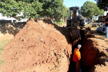 Prefeitura de Mandaguaçu inicia obras no Conjunto Residencial Amanda