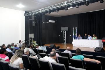 Audiência pública sobre as diretrizes orçamentárias para 2016