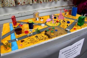 Feira Cultural: Vida Saudável - Escola Municipal Gilson Belani