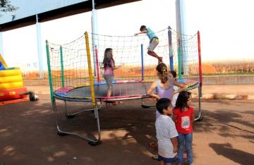 Departamento de Esportes realiza rua de recreação em Pulinópolis