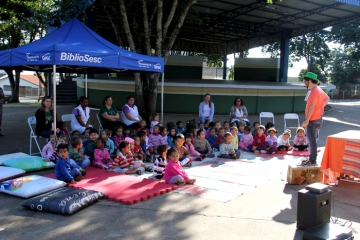 Escola Municipal Barão do Rio Branco e C.M.E.I Santa Terezinha - BiblioSESC