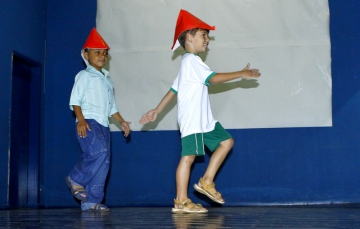 Comemoração do Dia dos Pais & Premiação do Melhor Contador de Histórias da Escola Municipal Santo Carraro