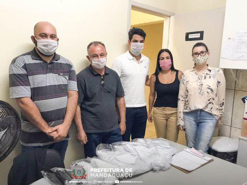 População de Pulinópolis e Vila Rural recebem doação de máscaras