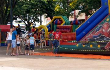 Departamento de Esportes realiza recreação em comemoração ao Dia das Crianças