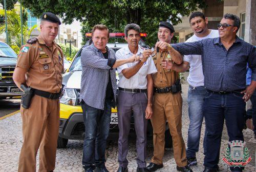 Reforço para a Polícia Militar de Mandaguaçu