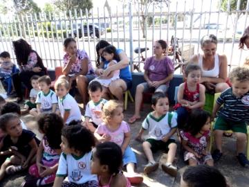 Projeto Dengue no C.M.E.I Santa Terezinha