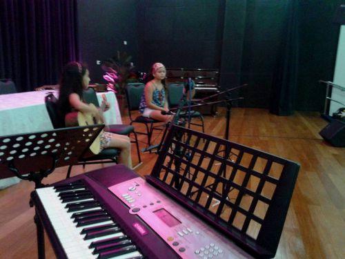 Audição 2015 de piano, teclado e violão