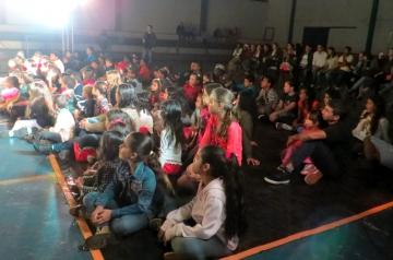 Mobilização em virtude da Campanha Nacional de Combate ao Abuso e Exploração Sexual de Crianças e Adolescentes
