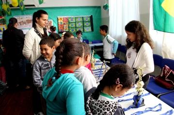 Feira Cultural da Escola Municipal Santo Carraro -
