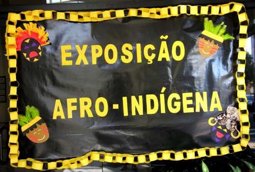 Departamento de Educação e Cultura promove exposição afro-indígena