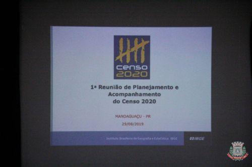 1ª Reunião de Planejamento do Censo 2020