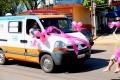 Departamento de Saúde realiza caminhada de conscientização contra o câncer de mama