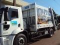 Novo caminhão de lixo em Mandaguaçu