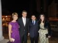 Prefeito Ismael Fouani e primeira dama participam do casamento do filho do governador Beto Richa