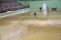 Piso do Centro Esportivo Pedro Bioni