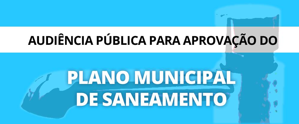Audiência Publica - Saneamento