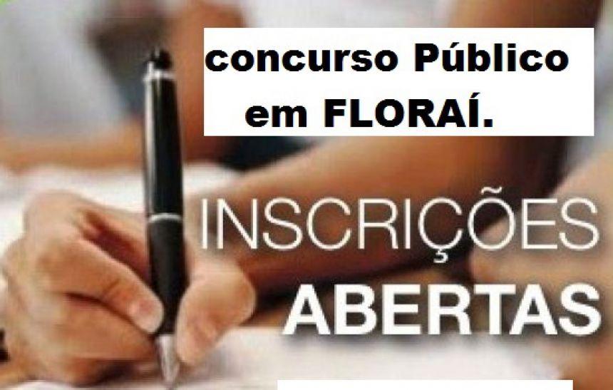 concurso publico em Floraí