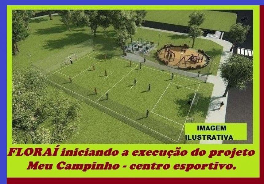 Centro esportivo Meu Campinho.