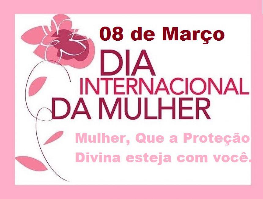 Dia internacional da Mulher.