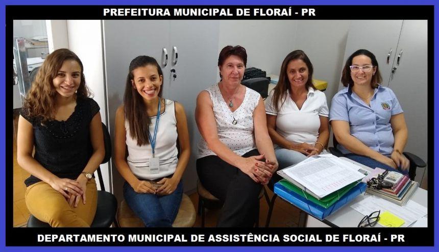 Assistencia Social recebe visita Tecnica Estadual.