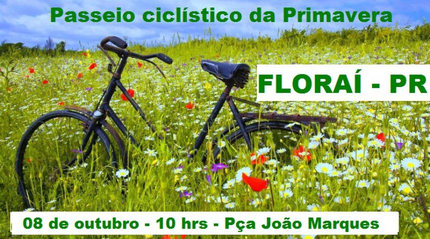 Passeio ciclístico da Primavera em Florai