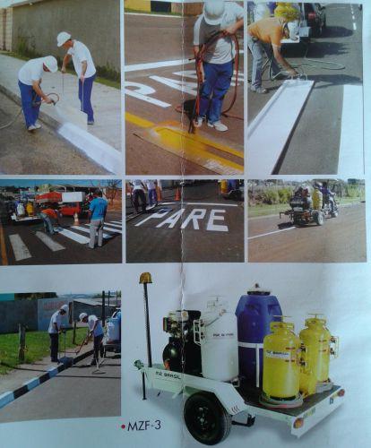 Municipio faz aquisição de equipamento para pintura.