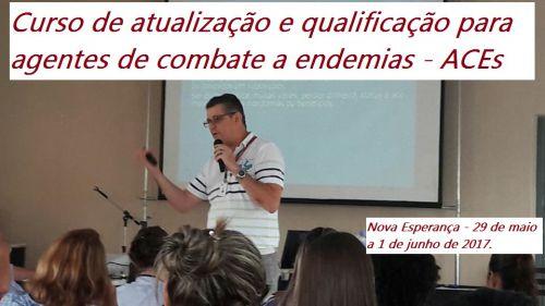 Curso de atualização e qualificação para agentes de combate a endemias.