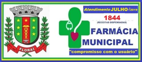 Atendimento da farmácia básica municipal