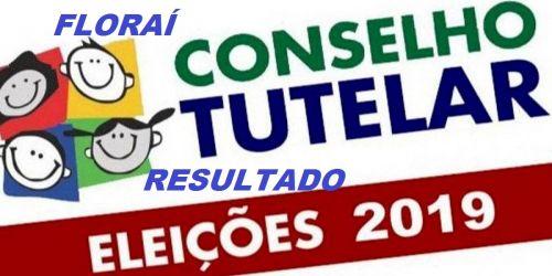 Apuração e resultado da eleição do conselho tutelar em Florai