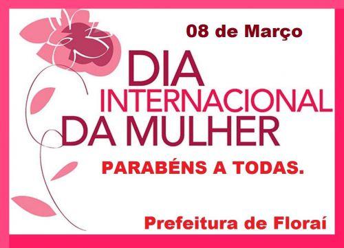 8 de março - dia internacional da mulher.