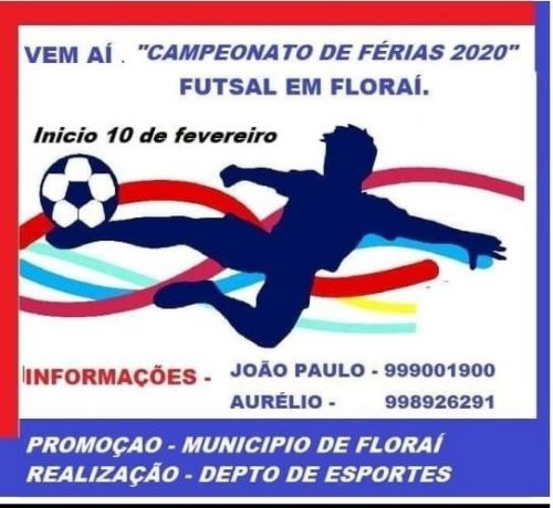 Campeonato Municipal de Ferias - Futsal