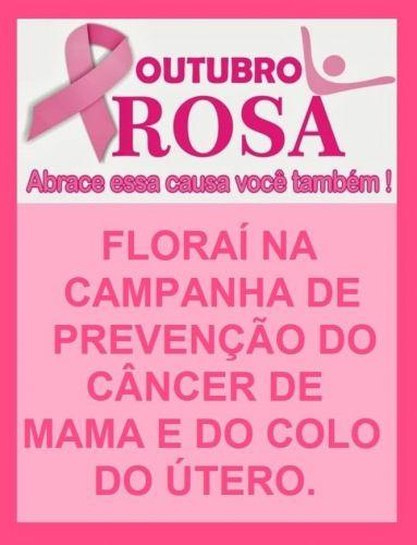 Outubro Rosa em Floraí.