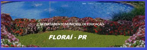 Secretaria de educação de Floraí, relata atividades remotas