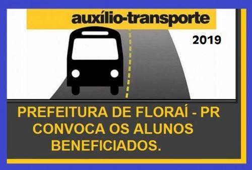 Auxilio ao transporte de estudantes universitários.