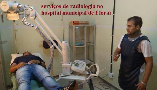Floraí viabiliza atendimento de radiologia