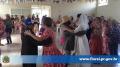 Dança quadrilha realizada pelo clube do vovô