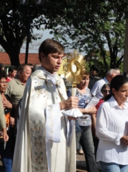 Celebração de Corpus cristi 2011
