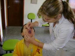 Dia de vacina em Floraí 16 de junho